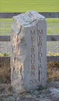 Image for Meridian Marker Stone - Melbourn, Cambridge, UK.