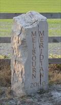 Image for Meridian Marker Stone - Melbourn, Cambridge, UK.