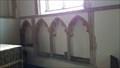 Image for Piscina & Sedilia - St Andrew - Quidenham, Norfolk