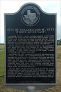 Image for Site of Bullard Community