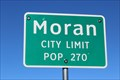 Image for Moran, TX - Population 270