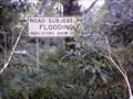 Image for Upper Kangaroo River Flood warning sign