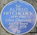 Image for Alfred Hitchcock - Cromwell Road, London, UK