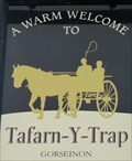 Image for Tafarn-y-Trap - Pub Sign - Gorseinon, Swansea, Wales.