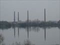 Image for Remaining Brick Chimneys - Stewartby Brickworks, Bedfordshire, UK