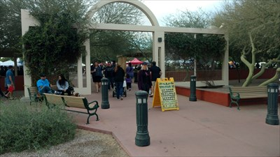 Here's the entrance to the Market.