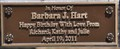 Image for Barbara J. Hart ~ Knoxville, Tennessee