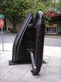 Image for Giant Flat Laundry Iron - Asheville, NC