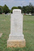 Image for Julia, wife of J. R. Hubbard -- Sweetwater Cemetery, Sweetwater TX