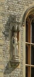 Image for King Edward III of England -- State Entrance, Upper Ward, Windsor Castle, Windsor, Berkshire, UK