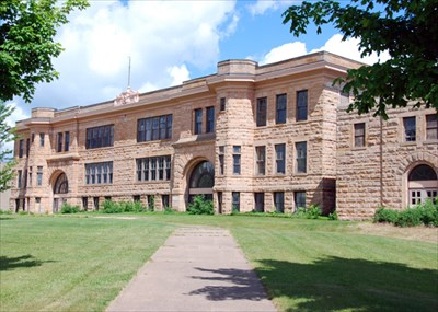 Sandstone School Mn U S National Register Of Historic Places On Waymarking