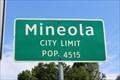 Image for Mineola, TX - Population 4515