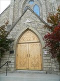 Image for Trinity Episcopal Church Doorway - Atchison, Ks.