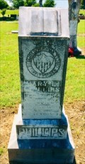 Image for Mary E. Phillips - Forest Grove Cemetery - Telephone, TX