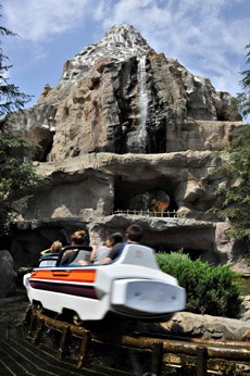 Matterhorn Bobsleds Disneyland California Roller Coasters On