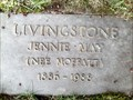 Image for 102 - Jennie May (Moffatt) Livingstone - Pinecrest, Ottawa, Ontario