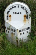 Image for Milestone - B6164, Wetherby Road, Nr Goldsborough, Yorkshire, UK.