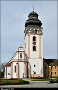 Image for Vež kostela Sv. Mateje / Tower of the Church of St. Matthew - Bechyne (South Bohemia)