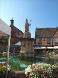 Image for Saint-Leon Fountain, Eguisheim / Alsace / France
