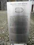 Image for Igreja de São Pedro de Rates - Póvoa de Varzim, Portugal