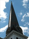 Image for Second Congregational Church Clock.  Easthampton, MA