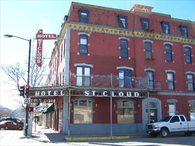 St Cloud Hotel Canon City Co Antique Hotels On Waymarking