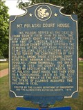 Image for Mount Pulaski Court House marker - Mt. Pulaski, IL