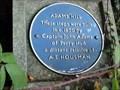 Image for Captain John Adams, St John the Baptist, Bromsgrove, Worcestershire, England