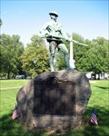 Image for World War Monument.  Barre, MA
