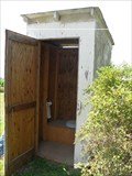 Image for Union Chapel Church Outhouse rural Ira, Iowa