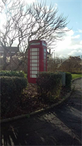 Image for Red Telephone Box in Grenay, Nord-Pas-de-Calais, France