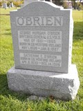 Image for George Morgan O'Brien - Holy Sepulchre Cemetery - Omaha, Ne.