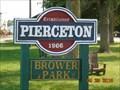 Image for Brower Park -  Market Street - Pierceton, Indiana