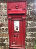 Image for Victorian Wall Post Box - Emmington, near Thame, Oxfordshire, UK
