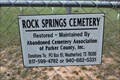 Image for Rock Springs Cemetery - Parker County, TX