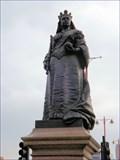 Image for Queen Victoria - Blackfriars Bridge, London, UK