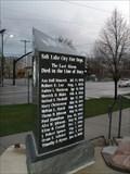 Image for Salt Lake City Fire Dept. - The Last Alarm - Salt Lake City, UT