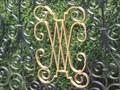 Image for Wroxton Abbey Gates - Dark Lane, Wroxton, Oxfordshire, UK