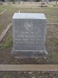 Image for John W. Lennon - Rice Cemetery - Rice, TX