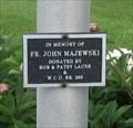 Image for Fr. John Majewski - St. Ann  Cemetery - Clover Bottom, MO
