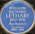 Image for William Richard Lethaby - Calthorpe Street, London, UK