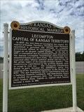 Image for Lecompton Capital of Kansas Territory - Tecumseh, KS