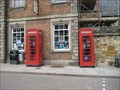 Image for Towcester  red telephone boxes
