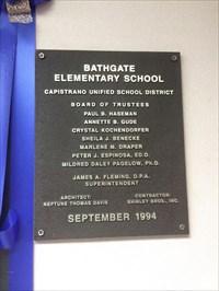 Bathgate Elementary School - 1994 - Mission Viejo, CA