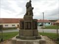 Image for Pomnik Obetem 1. svetove valky - Miroslav, Czech Republic