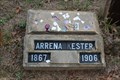 Image for Arrena Kester - Dye Mound Cemetery - Montague County, TX
