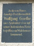 Image for Wolfgang Goethe - Mittenwald, Germany