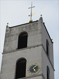Image for Clock on Christuskirche - Sulzbach-Rosenberg, BY, Germany