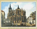 Image for St. Vitus Cathedral (east side)  by Josef Šembera  - Prague, Czech Republic