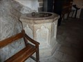 Image for Baptism Font - Eglise Saint Pierre - Mont Saint Michel - Normandy, France